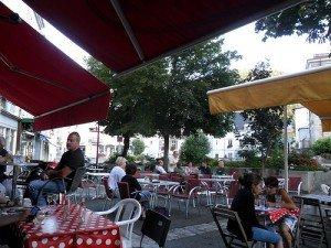 Cafés an Europas Logenplätzen