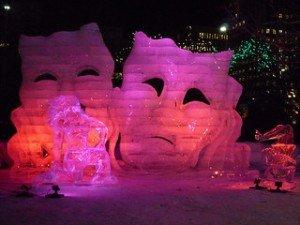Festivals in Schnee und Eis