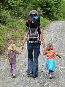 Wanderhütten für kleine Füße